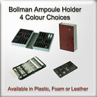 Bollmann Doctors Ampoule Holder Medical Case Plastic & Leather Options