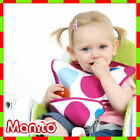 [Manito]Quick Wash Bib NO, PVC / NO,endocrine disruptor