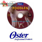OSTER Poodles Grooming DVD - Standard, Personality & Grooming WAHL ANDIS Dog Pet