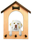 Clumber Spaniel Dog House Leash Holder. In Home Wall Decor Products & Gifts.