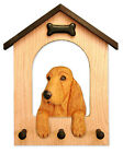 English Cocker Spaniel Dog House Leash Holder. In Home Wall Decor Products-Gifts