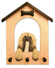 Adult Lhasa Apso Dog House Leash Holder In Home Wall Decor Products