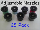25 PACK - HUNTER PRO ADJUSTABLE NOZZLES - Select 4A 6A 8A 10A 12A 15A 17A