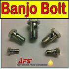 Metric Single BANJO BOLT Short Fitting - Diesel Petrol Oil Tube Pipe Fuel Filter