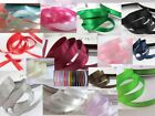"100 yards Polyester Color Satin 3/8"" Ribbon US Seller FREE US SHIP SR38-Roll"