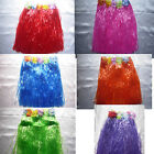 Grass Skirt Hawaiian Fancy Dress Tropical Party Cloose in Red, Pink, Blue, Green