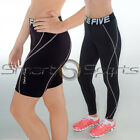 2 Pack Ladies Skin Tight Fitness Sport Compression Leggings + Shorts XS-4XL TFx