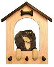 Saluki Dog House Leash Holder. In Home Wall Decor Wood Products & Dog Gifts.