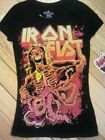 IRON FIST NUMBER OF THE BEAST BLACK S/S T.SHIRT XS S BNWT