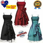 Girls Cocktail Party Dress Size 10 to 16 Girls Wedding Formal Graduation Dress