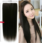 23*60cm Women's Straight Hairpiece Onepiece 5Clips-in Hair Extensions Wigs KP18