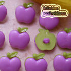 Purple Fruit 20mm Plastic Buttons Sewing Scrapbooking Collectable Craft CHB