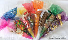Cone Cello Bags *All Sizes Colours & Quantities* Gifts Sweets Party Cellophane