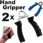 2 x Power Fitness Steel Gripper Exercise Hand Physio Grip Exerciser Bodybuilding