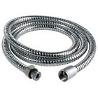 Stainless Steel Chrome Shower Flexible Hose 1.5  1.75  2 Metres Long 8mm Bore