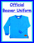 OFFICIAL Beaver Scout Sweatshirt BRAND NEW , ALL SIZES, NEW STYLE **OFFICIAL**