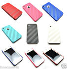 NEW STYLISH CARBON STYLE HARD CASE COVER FITS IPHONE 4 4S SCREEN PROTECTOR GUARD