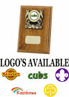 BEAVERS CUBS SCOUTS RAINBOWS BROWNIES GIRL GUIDES TROPHY AWARD