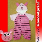 Lovely Piggy Baby Costume Romper Birthday Halloween X'mas Party Size Chart