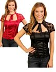SEXY GLAMOROUS STRAPPY CORSET STYLE LACE TOP SIZE 8 10 12 14 BNWT ONLY £9.99