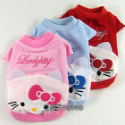 Dog&Cat Clothes Kitty T-shirts_A313
