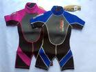 NALU SHORTIE KIDS 3mm WETSUIT JUNIOR CHILD CHILDRENS SHORTY swim bodyboard kayak