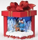 """35975  8."""" H Rudolph The Reindeer Motion Display  Gift Box.. Musical Bumble"""