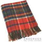 100% WOOL BLANKET/THROW/PICNIC BLANKET SMALL & LARGE (REFJHW18005)