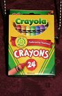 ***YOU CHOOSE***ROSEART OR CRAYOLA CRAYONS***BOTH IN 24 COUNT BOXES***