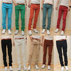Mens Casual Skinny Stretch Pencil Jeans Trousers Denim Size 28-34 free ship P100