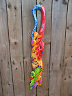 Fair Trade Hand-Carved Funky Wooden Ethnic Indonesian Gecko Wall Plaque - 100cm