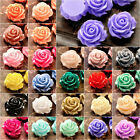 14x14mm Resin flowers cameos fit Cabochons settings flatback wholesale FREE SHIP