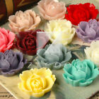 Resin Flatback Vintage Peony Flower Cabochon Choose Wholesale Lots RB0505