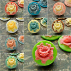 Resin Round Vintage Flatback Flower Cabochon Cameo Wholeasale Lots 18x18x5 RB770
