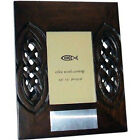 """Personalised Wooden Celtic Photo Frame 3.5"""" x 5"""" with Engraved Plaque"""