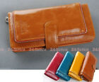 1 pcs Cool Zipper Decorated Lady Women Long Wallet Purse Coin Bag Card Holder