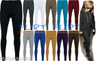 Womens Full Length Leggings Ladies Stretch Pants Long Gym Legging 8 10 12 14
