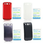 New 4500mAh Extended Battery+ Back Case for Samsung Galaxy S3 III S 3 i9300