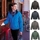 Mens Regatta Dover Hydrafort Waterproof Fleece Lined Jacket / Coat