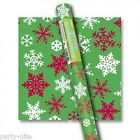 5ft x 30 inch Roll of Christmas Gift Wrap Paper, 6 patterns to choose from