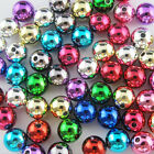 Shiny Mixed Acrylic Plastic DIY Smooth Round Ball Spacer Beads 8mm 10mm 12mm