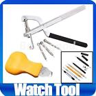 Watch Back Case Cover Opener Link Pins Spring Bars Punch Remover Kit Repair Tool
