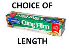 CLING FILM. CATERING PROFESSIONAL SIZES. PLASTIC WRAP.  KEEP KITCHEN FOOD FRESH.