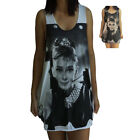 **Unisex Audrey Hepburn Vest** Tank Top Singlet T-Shirt  **Sizes S M L XL**