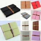 1PC IPAD 2 3rd Retro PU Leather Belt Brass Buckle Bumper Cover Case Folio Stand
