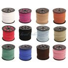 3mm Genuine Leather Cord, Suede Lace Jewelry Making/Beading/Thread Flat