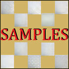 "Decorative White Ceiling Tiles Styrofoam 8""x10"" SAMPLES  Pieces ""NOT FULL TILES"""