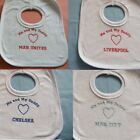 Baby Bibs - Me and My Daddy Love Liverpool, Man United, Chelsea (ANY TEAM)