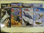 3D Foam Card Puzzle Fold Up With Display Stand Military Aircraft Space BNIB