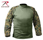 Woodland Forest Hunting Digital Camo US Army USMC Military Combat Tactical Shirt